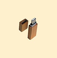 USB Stick aus Holz