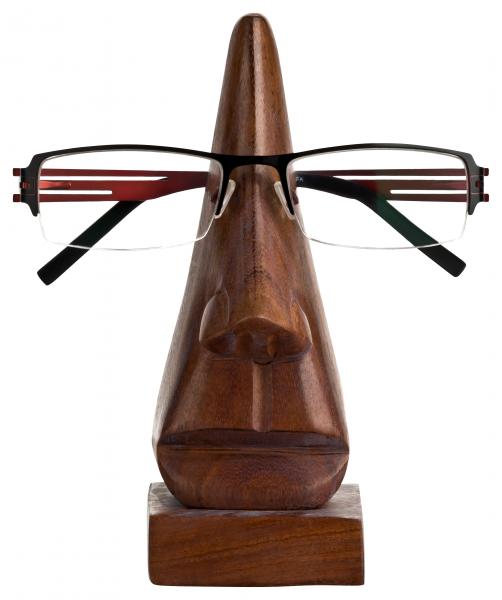 Holzkopf Brillenhalter Mr.Nose