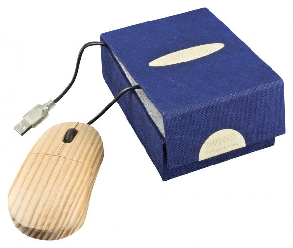 USB Holzmaus optisch SWEDX